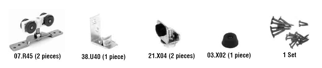 07.900 Nylon Hanger Components Kit