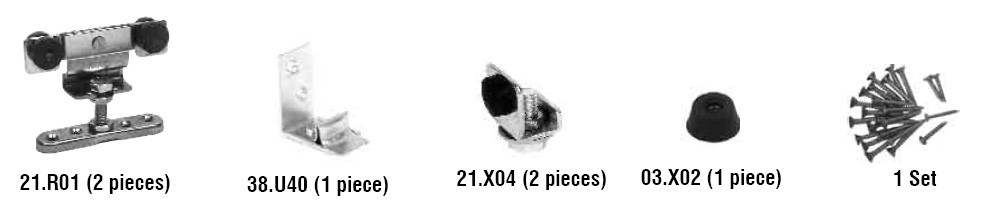 07.900 Steel Hanger Components Kit