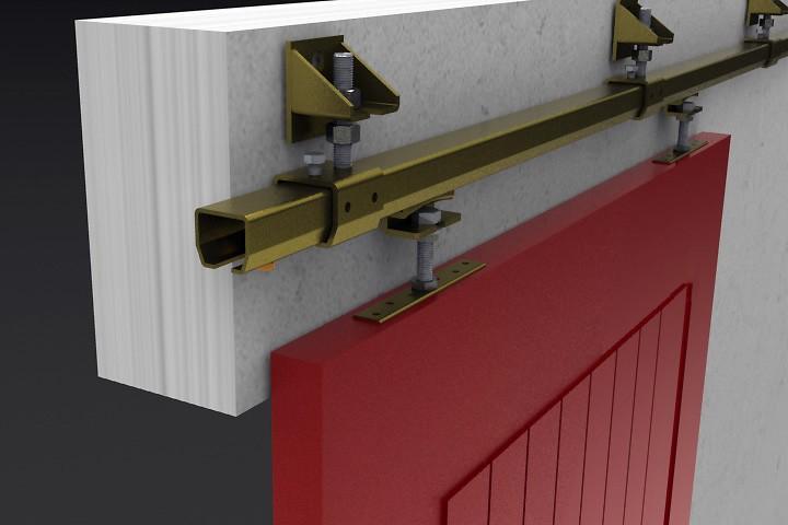 Industrial Sliding Door Track