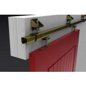 21 Industrial Sliding Door Track