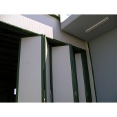 folding door track